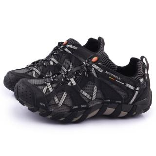 【MERRELL】男款WATERPRO MAIPO水陸兩棲運動鞋(ML80053-黑)