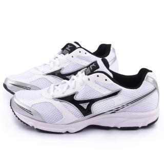 【MIZUNO】男款 MAXIMIZER 17 超輕量慢跑鞋(K1GA150209-白銀)