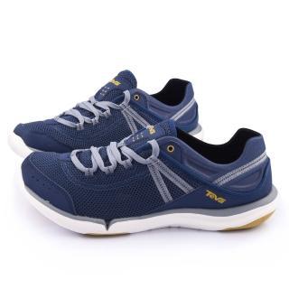 【TEVA】男款 EVO 輕量水陸越野鞋(TV1006249NAVY-藍)