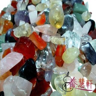 【養慧軒】天然五行水晶碎石 大包裝 優惠組(2000公克)