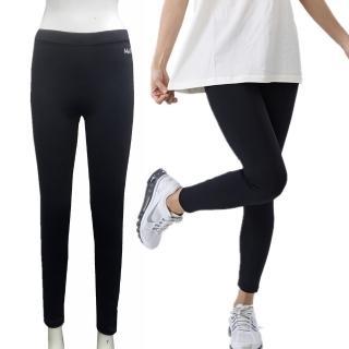 【MACPOLY】台灣製造 / 女舒適透氣彈力緊身戶外運動休閒內搭褲/長褲(黑色 S-2XL)