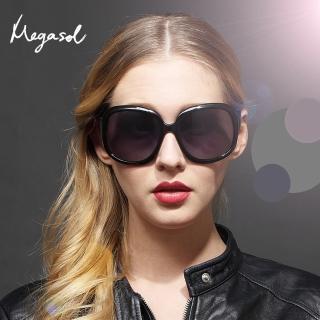 【MEGASOL】DIOR設計師同款寶麗萊UV400偏光太陽眼鏡(MS-3113-6色任選)