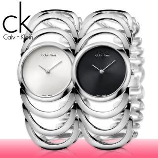 【瑞士 CK手錶 Calvin Klein】銀系列_手環式_淑女錶(K4G23126_K4G23121)
