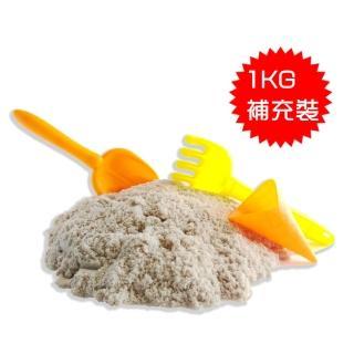 【TUMBLING SAND】翻滾動力沙1kg補充裝(感覺統合親子玩具)