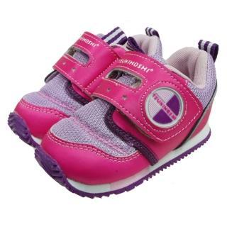 【布布童鞋】日本TSUKIHOSHI桃紅紫機能寶寶鞋(IB9066H)