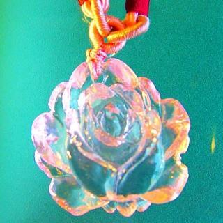 【開運陶源】玫瑰(琉璃項鍊)