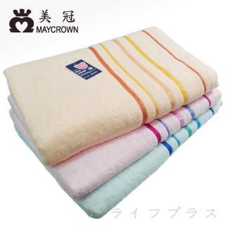 點點小魚/雙色魚/格子雙貓純棉浴巾-2入組(2922/2925/2943)