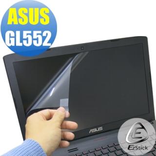 【EZstick】ASUS GL552 專用 靜電式筆電LCD液晶螢幕貼(可選鏡面或霧面)