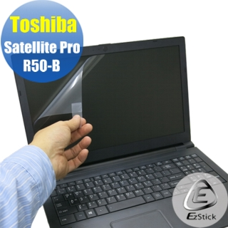【EZstick】Toshiba R50-B 專用 靜電式筆電LCD液晶螢幕貼(可選鏡面或霧面)