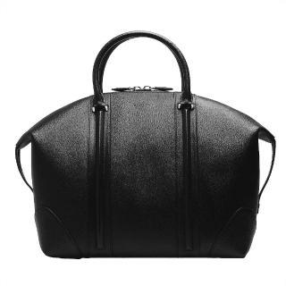【GIVENCHY】Lucrezia Bugatti防刮小牛皮手提旅行包(黑BJ05821026-001)