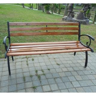 【BROTHER 兄弟牌】米蘭典雅雙人鑄鐵公園椅