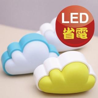 【韓國創意】智能光控LED氣氛雲朵夜燈(溫和不刺眼)