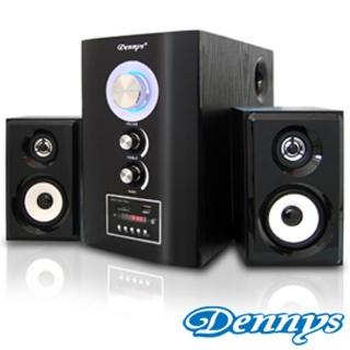 【Dennys】2.1木質USB/SD音響喇叭遙控版(T-700S)