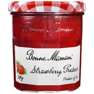 【Bonne Maman】純天然果醬-草莓(370g/罐)