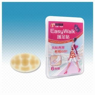 【全新生醫 IGIBAN 全新一級絆】人工皮護腳貼 6片 腳側腳底部位(EasyWalk)