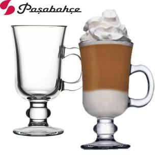 【土耳其Pasabahce】高腳玻璃咖啡杯(二入組)