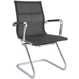 【aaronation愛倫國度】透氣網布辦公椅/會議椅(i-RS904M-B)