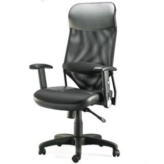 【aaronation愛倫國度】第三代透氣尼龍網背主管椅(i-RS535SGA-B)