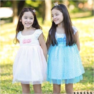 【baby童衣】女童洋裝 無袖玫瑰花造型網紗裙 52354(共二色)