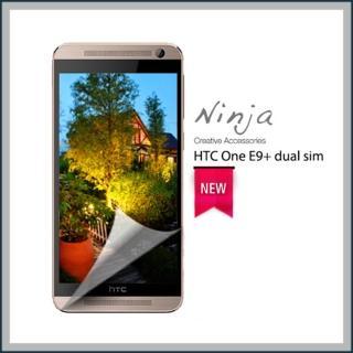 【東京御用Ninja】HTC One E9+ dual sim專用高透防刮螢幕保護貼