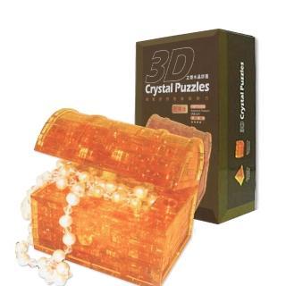 【3D立體水晶拼圖】3D Crystal Puzzles 所羅門寶藏(8cm系列-46片)