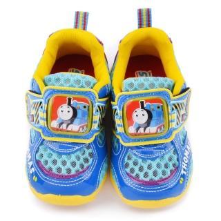 【童鞋城堡】湯瑪士 中童 透氣電燈運動鞋(TH50006-1-水藍)