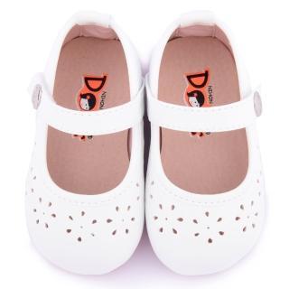 【童鞋城堡】日本娃娃小童 典雅雕花寶寶公主鞋(1335-白)