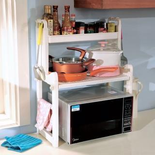 【LIFECODE】優廚三層微波爐置物架(廚房收納架)