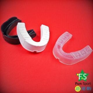 【《Fun Sport》】LaVega樂亦康運動護牙套(台製-2個-白/黑/透)