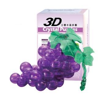 【3D立體水晶拼圖】3D Crystal Puzzles 愛戀葡萄園(8cm系列-46片)