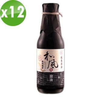 【瑞春醬油】和風醬油柴魚風味X12瓶