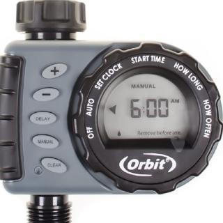 【灑水達人】美國ORBIT自動定時灑水器LCD螢幕