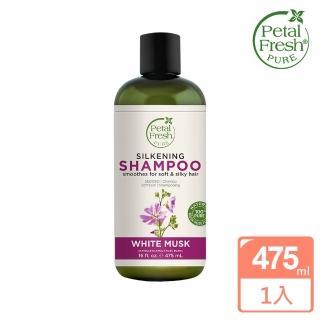【美國 沛特斯】有機成份白麝香絲滑洗髮精(無矽靈-16oz/475ml)