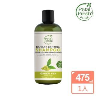 【美國 沛特斯】有機成份綠茶亮采洗髮精(無矽靈-16oz/475ml)
