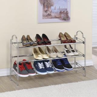 【海克力士】堆疊式伸縮鞋架(1入)