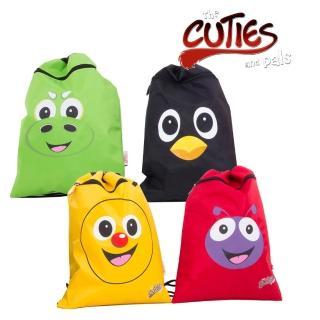 【英國cuties and pals】輕便束口後背袋(4款)