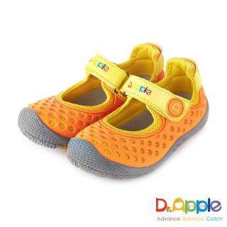 【Dr. Apple 機能童鞋】洞洞涼一夏超cute休閒童鞋(橘)