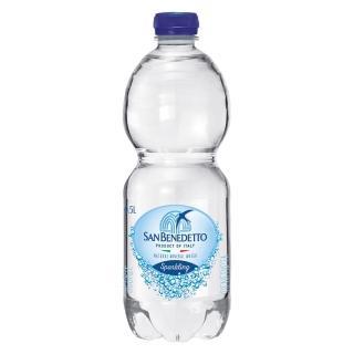 【San Benedetto】聖碧濤天然氣泡礦泉水500毫升(24入/箱)