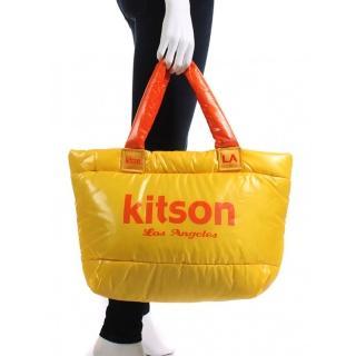 【Kitson】字體LOGO尼龍拖特包(五款選擇)