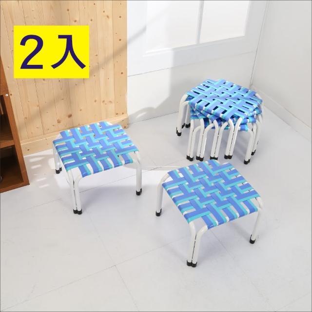 【BuyJM】四方板帶椅凳-板凳(2入)