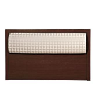 【綠活居】瓦倫珊  5尺皮革雙人床頭片(二色可選)