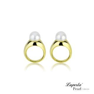 【大東山珠寶】自然光輝純銀珍珠耳環(時尚珍珠)