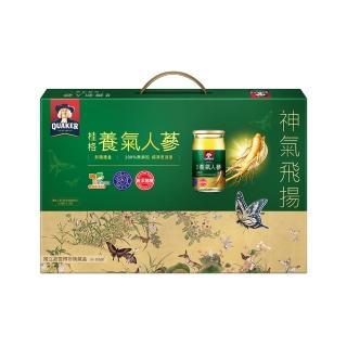 【桂格】無糖養氣人蔘禮盒60ml*12入