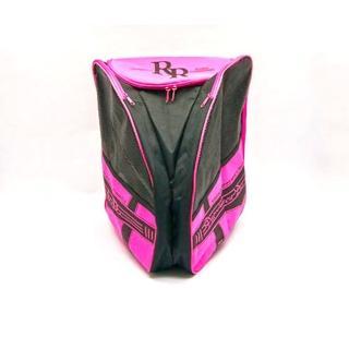 【D.L.D多輪多】專業直排輪 溜冰鞋 太空背包(粉紅)