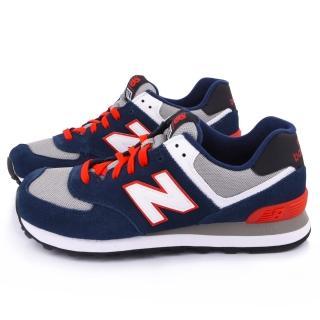 【NewBalance】男款 經典574復古運動鞋(ML574CPM-D-藍)