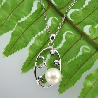 【xmono】春心蕩漾天然珍珠項鍊