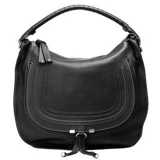 【CHLOE】經典Marcie Large Bag小牛皮單把手提肩背包(黑-大3S0854-161-001)