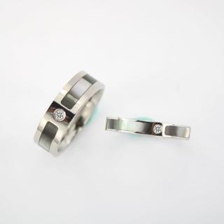 【xmono】愛的誓言不鏽鋼戒指(男女對戒)