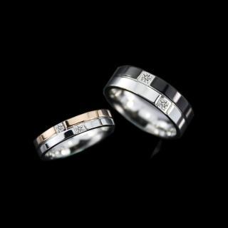 【xmono】約定不鏽鋼戒指(男女對戒)