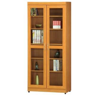 【時尚屋】豪豐2.6x6尺玻璃門書櫃(RC5-A51)